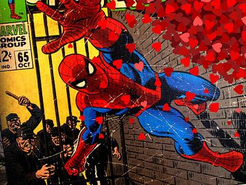 Spiderman in love van Christa Wijga