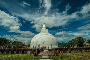 Temple bouddhiste au Sri Lanka sur Thijs van Laarhoven