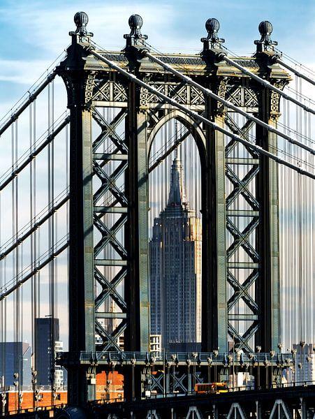 Manhattan Bridge New York van Kurt Krause