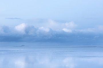 Spiegeln von Wattenmeer von P Kuipers