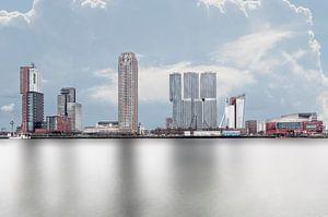 Rotterdam Kop van Zuid vanaf Katendrecht
