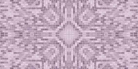 Rosa Steine-Muster