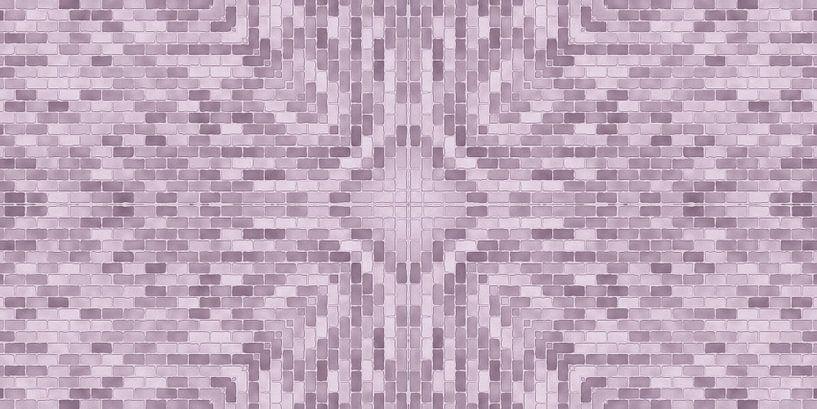 Rosa Steine-Muster von Marion Tenbergen