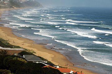 Wasserwellen in  Indischen Ozeans,  Südafrika von Paul Franke