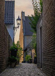 oud straatje van Tania Perneel