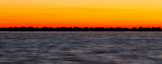 Natuur | Zonsondergang aan het IJsselmeer - Enkhuizen 2