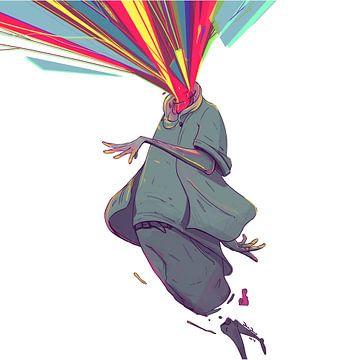 Farbexplosion von Jan Jaap Weerheijm