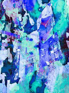 Modern, Abstract kunstwerk - I Won't Question Tomorrow