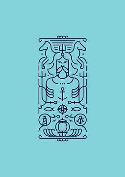 Poseidon (blue) sur Rene Hamann