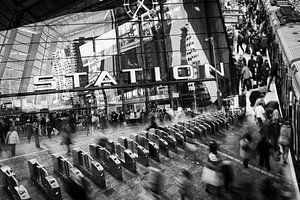 De levendige stad - Rotterdam Centraal Station
