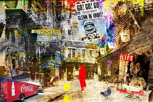 Lady in red van PictureWork - Digital artist