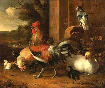 Hühnerhof, Melchior d'Hondecoeter von