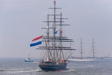 ZKH Willem Alexander op de Stad Amsterdam van Brian Morgan