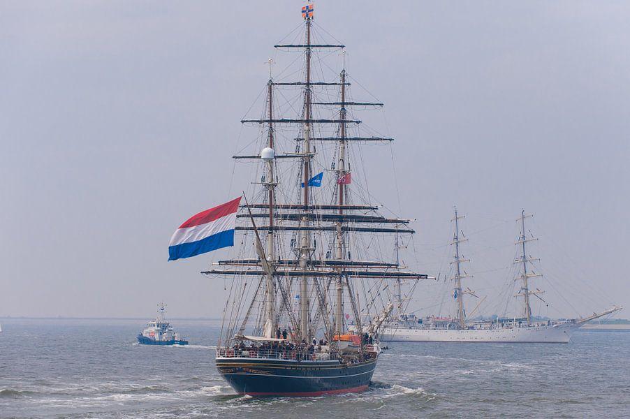 ZKH Willem Alexander op de Stad Amsterdam