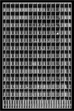 De Rotterdam, balkonnetjes tellen van