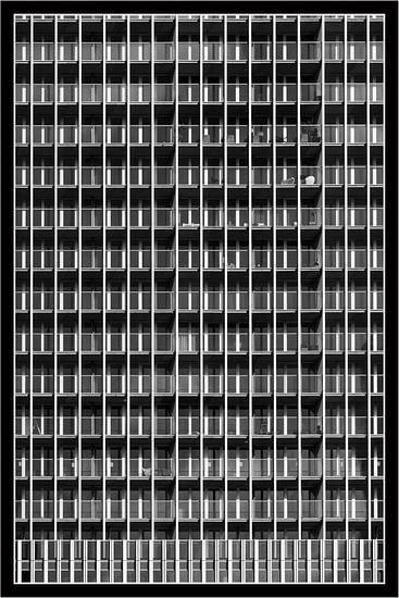 De Rotterdam, balkonnetjes tellen van Michèle Huge