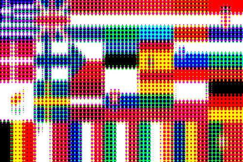 Vlaggen van de Unie 4: rasterpatroon