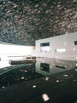 Het Louvre in Abu Dhabi van Michiel Dros