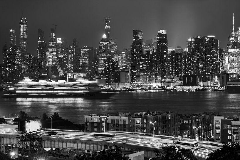 Skyline Manhattan New York van Kurt Krause
