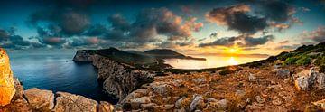 Zonsopkomst Sardinië - Alghero baai sur Damien Franscoise