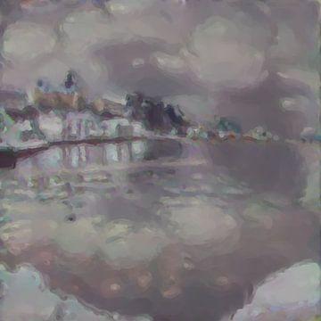 Abstract Inspiratie XXXIII van Maurice Dawson