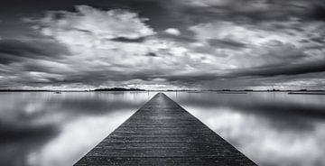 Pier + Horizont von Michel van der Klooster
