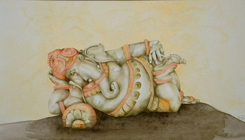 Ganesha sur Helma van der Zwan