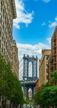 Doorkijk New York van Ivo de Rooij