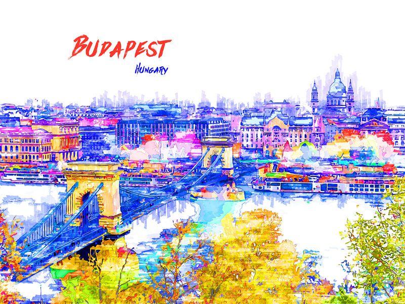 Budapest von Printed Artings