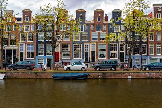Grachtenpanden - Amsterdam van Thomas van Galen