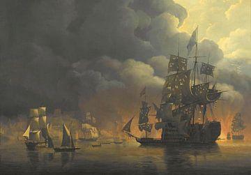 Die englisch-niederländische Flotte unter Lord Exmouth, Nicolaas Baur
