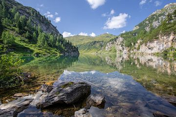 Tappenkarsee in Oostenrijk van Wim Brauns