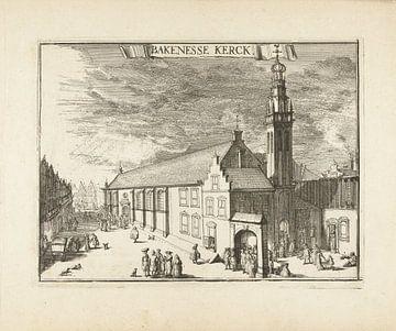 Blick auf die Bakenesserkerk, Romeyn de Hooghe