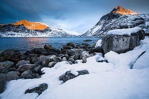 Winterlandschap in Senja / Lofoten, Noorwegen