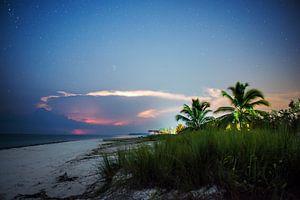 Bounty eiland bij nacht van