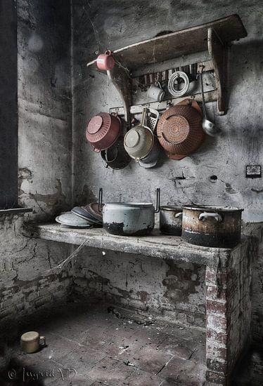 Urbex Keuken  van Vandain Fotografie