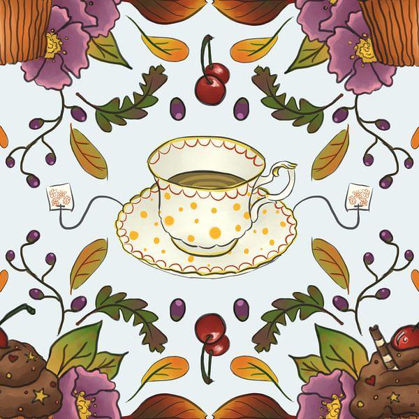 teacup van Wies de Ruiter