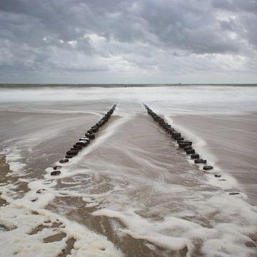 Wellenbrecher von Jeannette Kliebisch