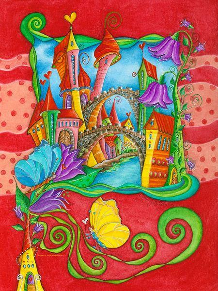 Schmetterling Stadt