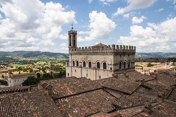 Gubbio en omliggend land