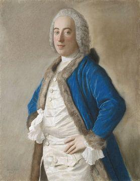 Portret van Joseph Bouër, Jean-Etienne Liotard