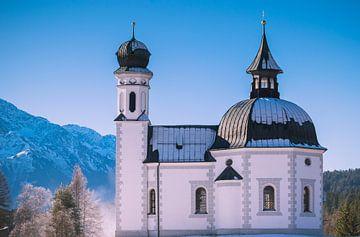 Seekirche in Seefeld van Miranda Rijnen