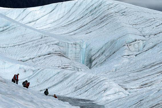 Gletsjer wandeling  van Menno Schaefer