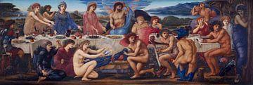 Das Fest des Peleus, Edward Burne-Jones - 1881 von Atelier Liesjes