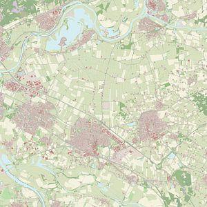 Kaart vanZevenaar