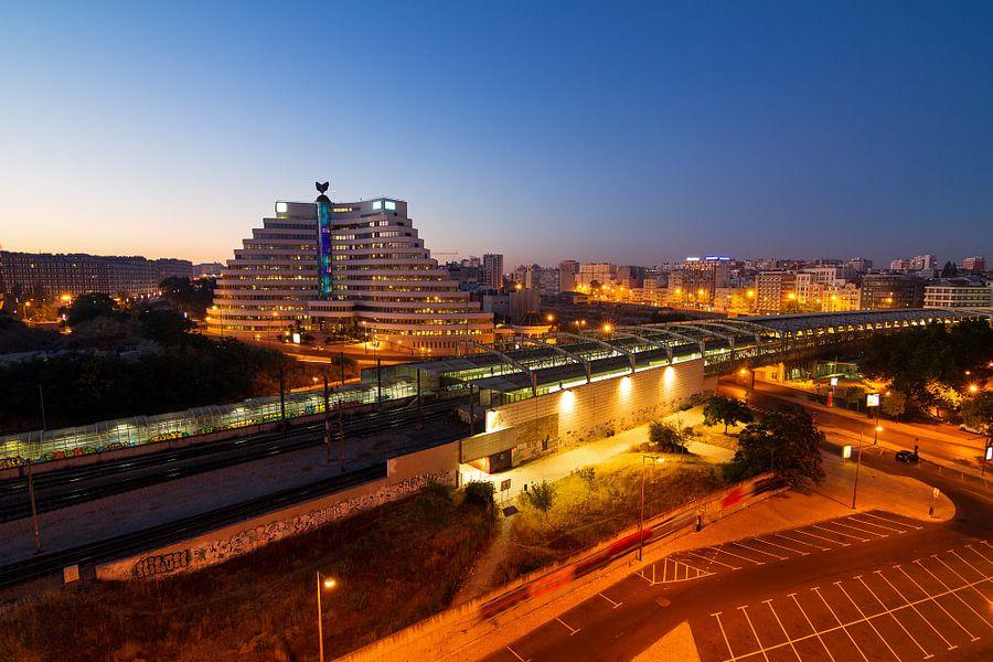 Lissabon uitzicht Entrecampos