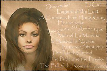 Legenden - Sophia Loren (Films) van Christine Nöhmeier