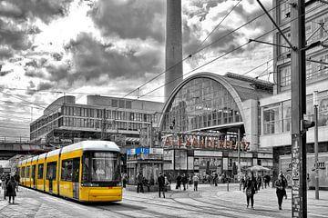Alexanderplatz Berlin van Joachim G. Pinkawa