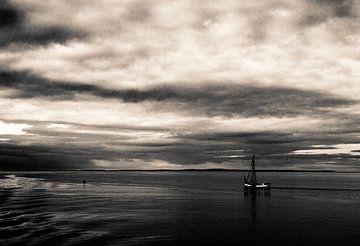 Zeilen auf dem Wattenmeer von Marlon Mendonça Dias