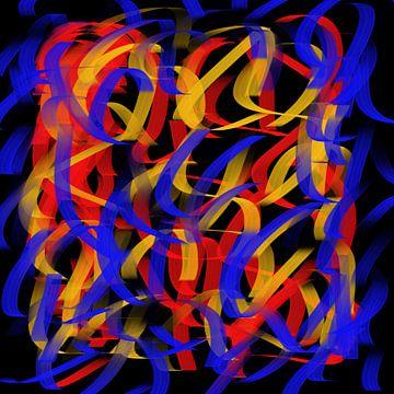 Kurzfassung rot blau gelb von Maurice Dawson